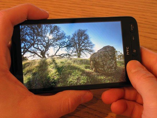 HTC HD2 — экран